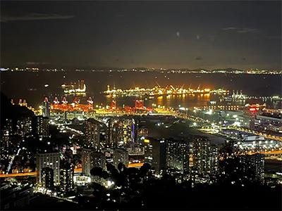 从集装箱运输车辆停车场到深圳中心-前海自贸区的前世今生